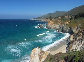 isolerad strand foto