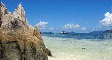 exotisk strand foto