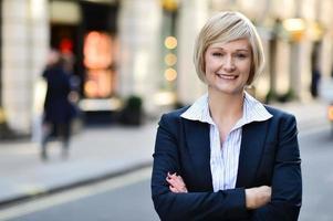 säker affärskvinna porträtt foto