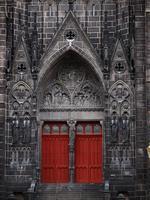 Clermont-Ferrand-katedralen foto