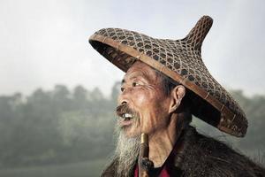 kinesisk fiskare foto
