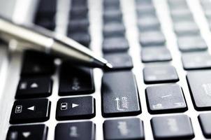 knapp på tangentbordet foto