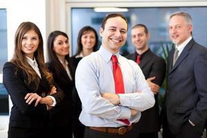 grupp företagare foto