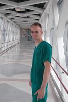 vänlig sjuksköterska foto
