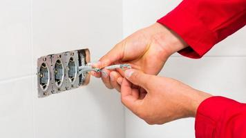 elektriska renoveringar foto