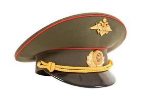 ryska officer cap foto