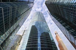 skyskrapor affärskontor foto
