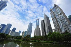 shanghai lujiazui finans- och handelsgård foto