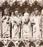 cathédrale de notre dame (Paris, Frankrike) foto