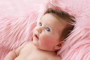 nyfödd bebis foto