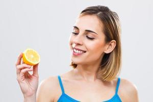 citron för din skönhet och hälsa! foto