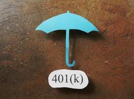 401k investering foto