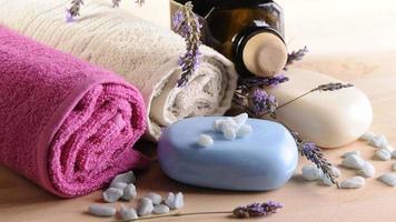 spa och wellness-inställning foto