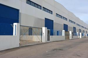 almacén industriell foto
