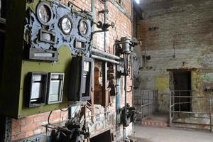pannhus i en fabrik foto