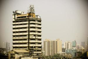 skyline av mumbai, Indien foto