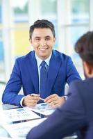 framgångsrik arbetsgivare foto
