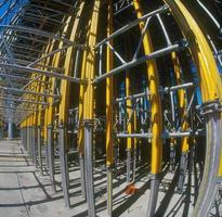 byggarbetsplats. foto