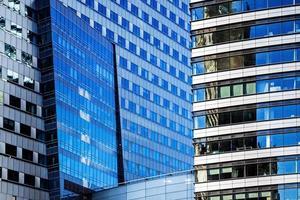 moderna arkitektur kontorsbyggnader foto