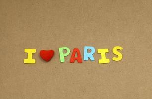 jag älskar Paris