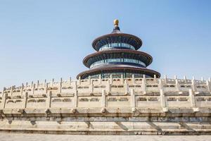 himmelens tempel i Peking, världens kulturarv foto