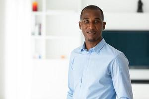 ung afrikansk amerikansk affärsman - svarta människor foto