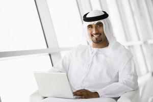 Mellanöstern affärsman foto