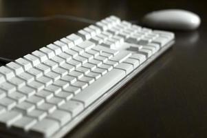 tangentbord och mus foto