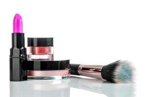 uppsättning av professionell makeup