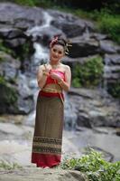 dansare Thailand foto