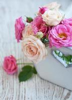 rosa rosor foto