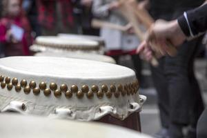 taiko trummor foto