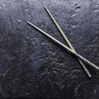 de kinesiska pinnarna foto