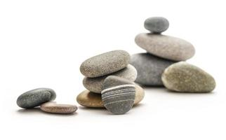 uppsättning stenar foto