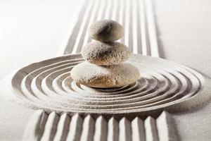mineralmeditation för avkoppling foto