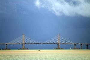 penang bridge, malaysia