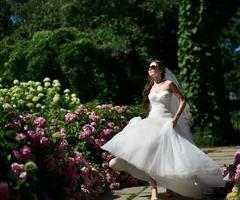 ung kaukasisk brud