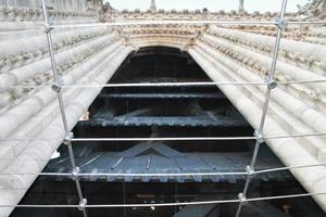 arch of notre dame de paris foto
