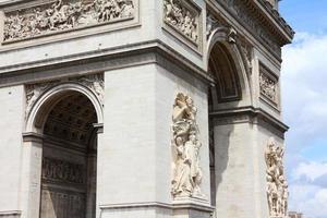 triumfbåge i paris foto