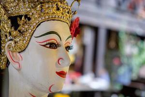 thailändsk traditionell docka, nationellt kulturarv