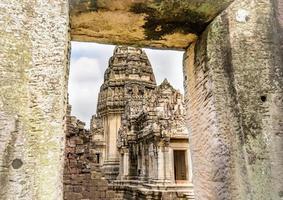 gamla historiska park asiatiska tempel och kultur foto