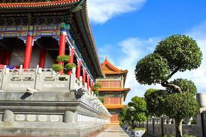 traditionell kinesisk stil tempel på wat leng-noei-yi