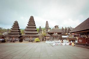 besakih komplex pura penataran agung, Bali, Indonesien foto