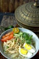 soto - malaysisk och indonesisk mat foto