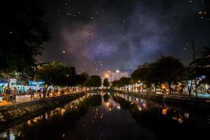 festivalen i Chiang Mai foto