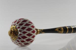 verktyg för att träffa balinesiska gamelan-instrument foto