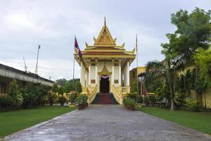 kambodjanska buddhistiska templet foto