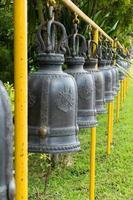 klockan i templet, Thailand foto