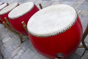 kinesisk trumma foto