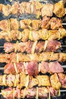 grillat kött foto